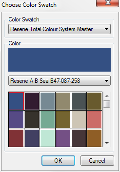 Resene Paint added to Color Swatch