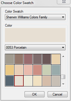 Sherwin Williams Color Swatches
