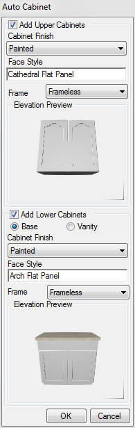 Rendered Cabinet Preview