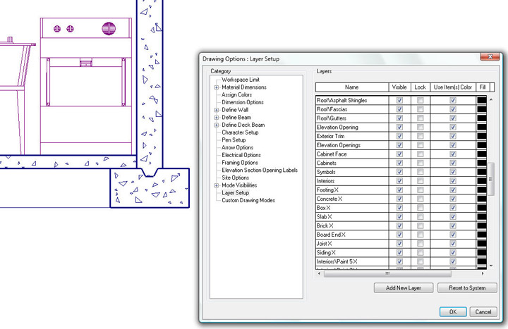 Softplan home design software lines in elevation are on for Softplan review
