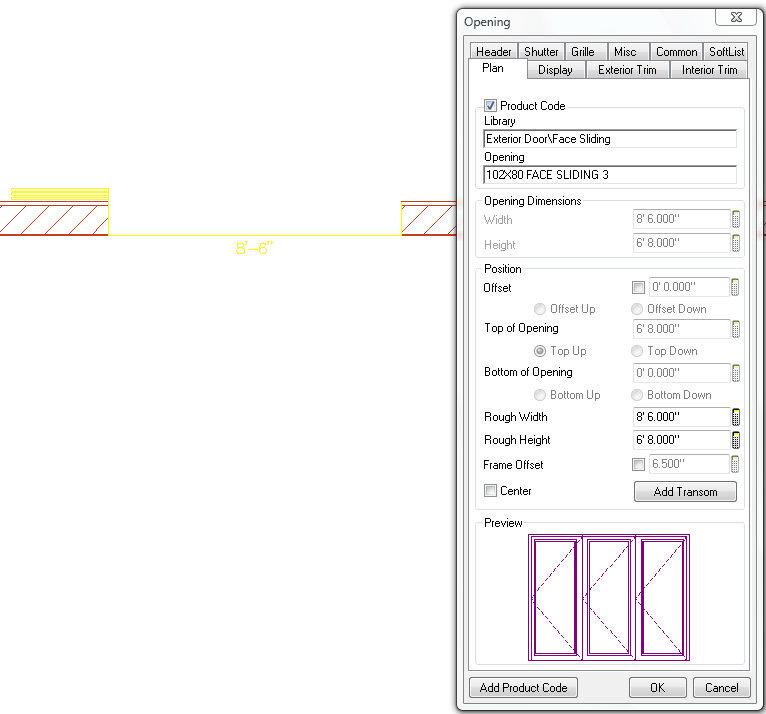 Softplan home design software face sliding door type added for Softplan review