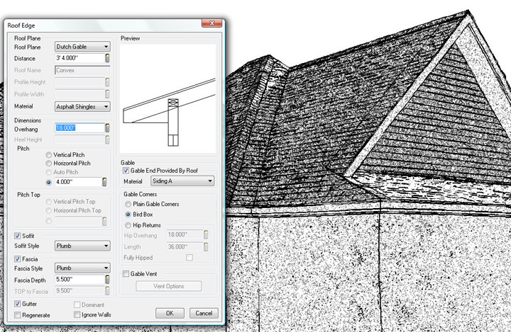 Softplan home design software edit roof edge easier to for Softplan review