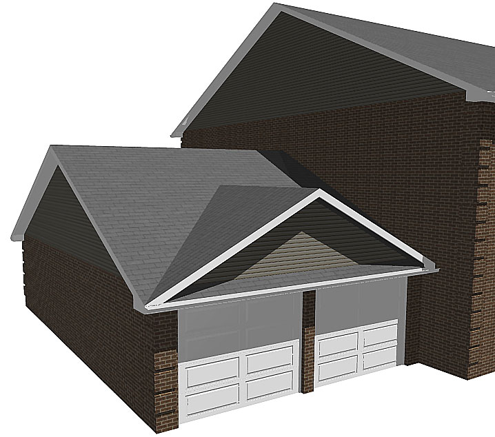 Picture Of A Gable Roof: Edim: Pent Shed Plans Gable Roof Addition