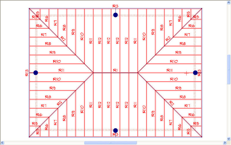 Roof plan sc 1 st gardenweb forums Roof drawing software