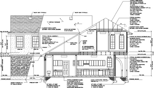 Softplan Home Design Software Automatic Cross Sections